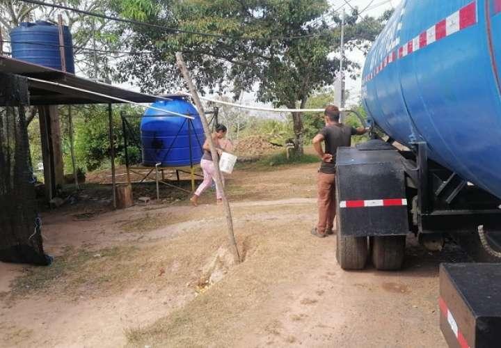 En estos momentos, la Dirección Regional de Arraiján cuenta con una flota de carros cisternas completa y disponible para el reparto.