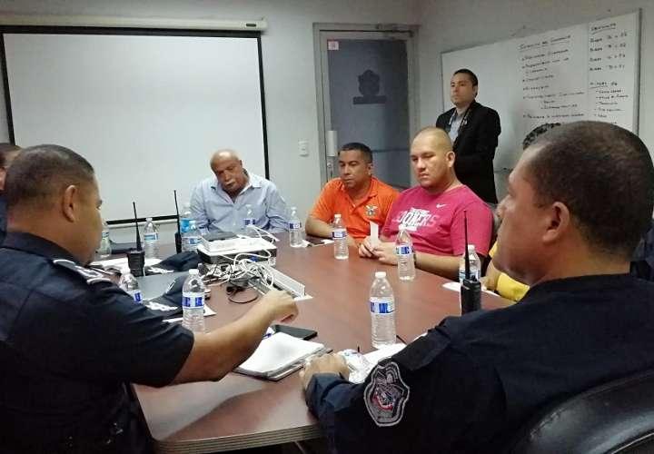 Reunión con transportistas de La Chorrera. Foto: Eric Montenegro