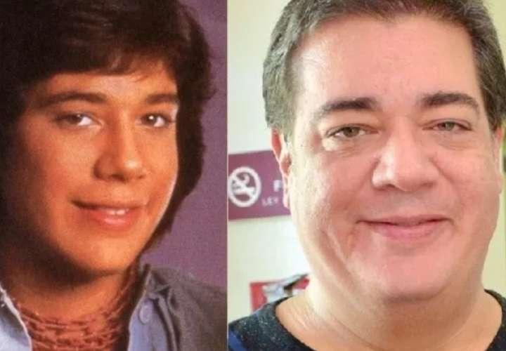 En la imagen el antes y después del exmenudo Rey Reyes.