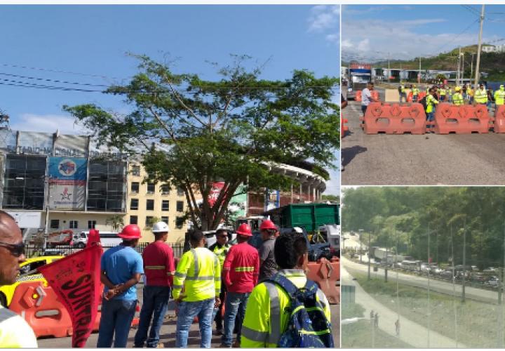 Cierran vía Centenario por muerte de tres trabajadores en accidente de tránsito