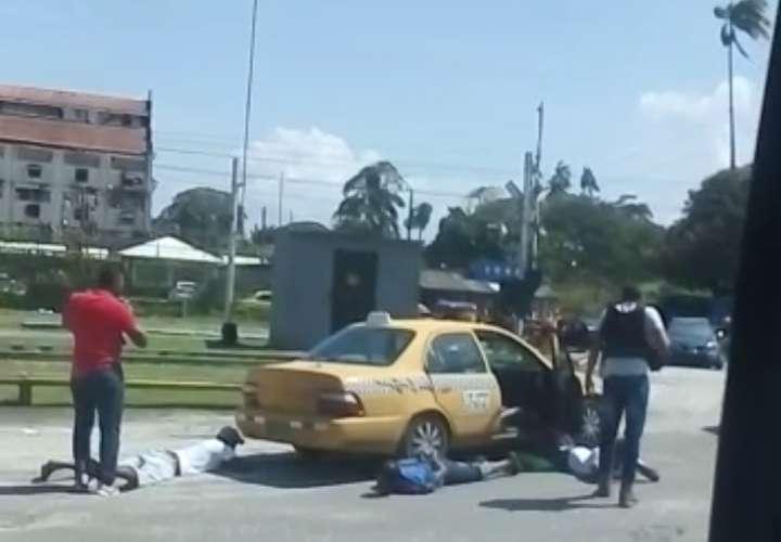 Capturan a 'Machete' por pandillerismo en Cristóbal (Video)