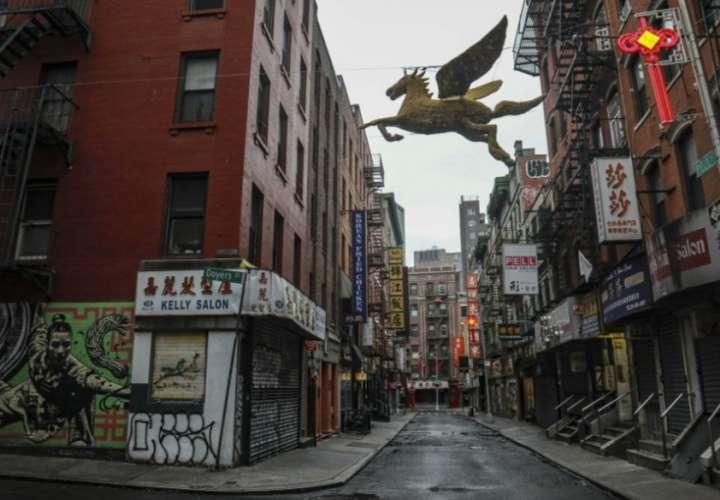 Las calles de Nueva York están desiertas. /AP