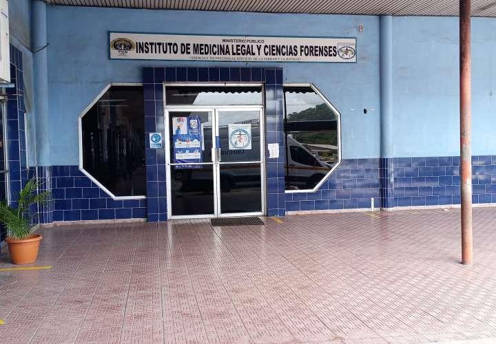 Vista general de la sede del Imelcf de Panamá Oeste, donde fueron evaluadas las víctimas.