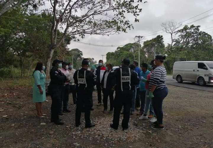 Senan y Policía Nacional refuerzan seguridad en Costa Arriba y Costa Abajo