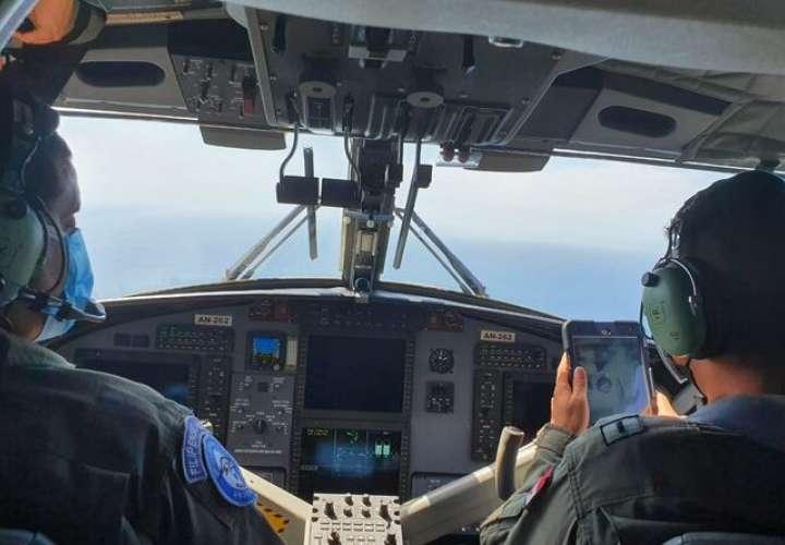 Senan realiza sobrevuelo en labores de búsqueda de pescador desaparecido