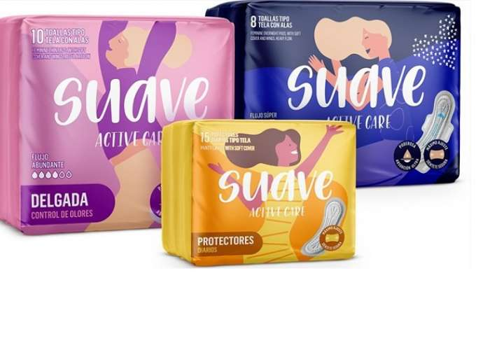 Suave Active Care, nueva línea de toallas femeninas pensadas para todo momento