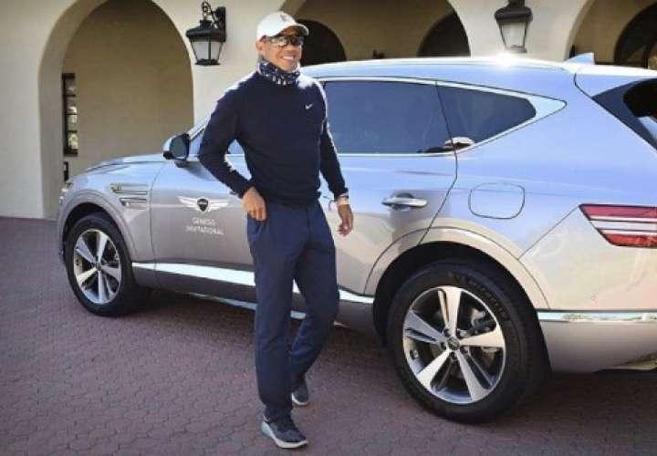 Tiger Woods se recupera tras accidente de tránsito