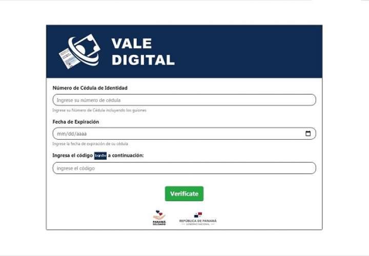 Con el Vale Digital solo se pueden comprar alimentos, medicinas, así como también artículos de primera necesidad.