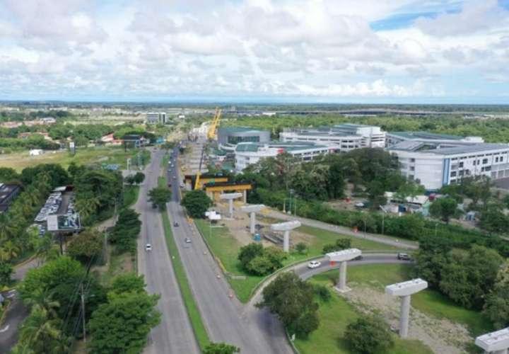 Cerrarán la calle Boulevard en Tocumen por montaje de vigas 'U'