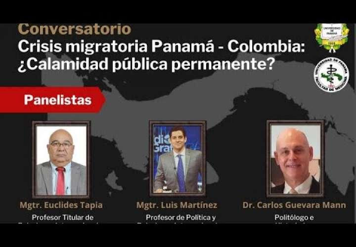 """Embedded thumbnail for Conversatorio """"Crisis Migratoria Panamá - Colombia: ¿Calamidad pública permanente?"""""""
