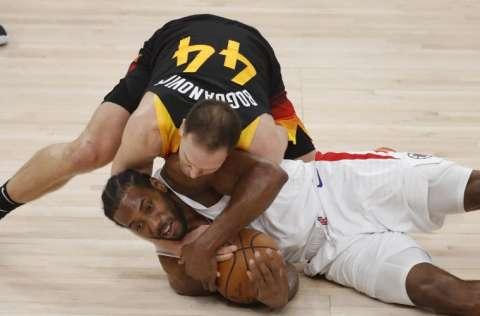 Utah Jazz tiene la ventaja de dos juegos a cero. Foto: AP