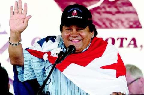 Roberto Durán cuando ingresó al Salón de la Fama del Boxeo Mundial, en Canastota, Nueva York, en 2006. Fotos: Archivo