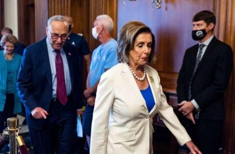 Nancy Pelosi, presidenta de la Cámara Baja de Estados Unidos. FOTO/EFE
