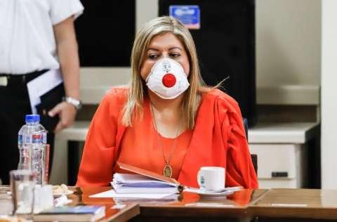 La fiscal general de Paraguay, Sandra Quiñónez, confirmó el incidente y precisó que se investigará el hecho hasta las últimas consecuencias. FOTO/EFE