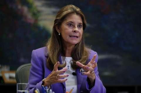 La vicepresidenta de Colombia Marta Lucia Ramírez, envío una carta al embajador haitiano Jean Mary Exil, manifestando su preocupación porque los detenidos no tienen asistencia. FOTO/EFE