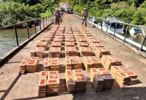 La droga fue decomisada en Punta Burica