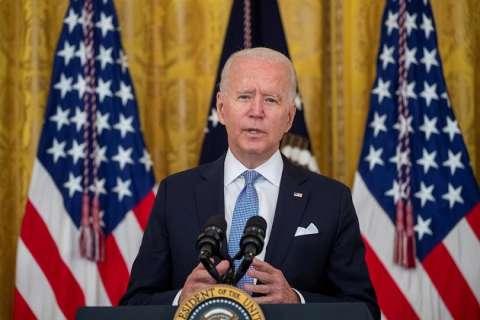 En la imagen, Joe Biden, presidente de EE.UU. EFE