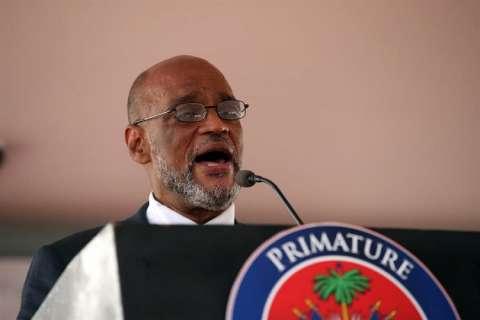 En la imagen aparece el nuevo primer ministro de Haití, Ariel Henry. EFE