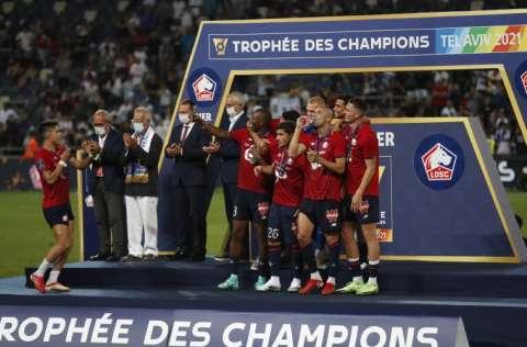 El Lille celebra su título Foto:EFE