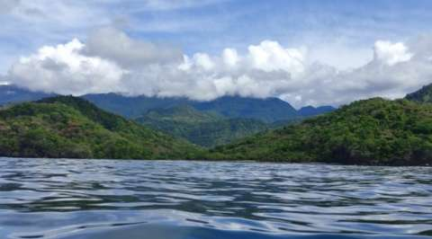 Vista general del  Parque Cerro Hoya, en Los Santos.