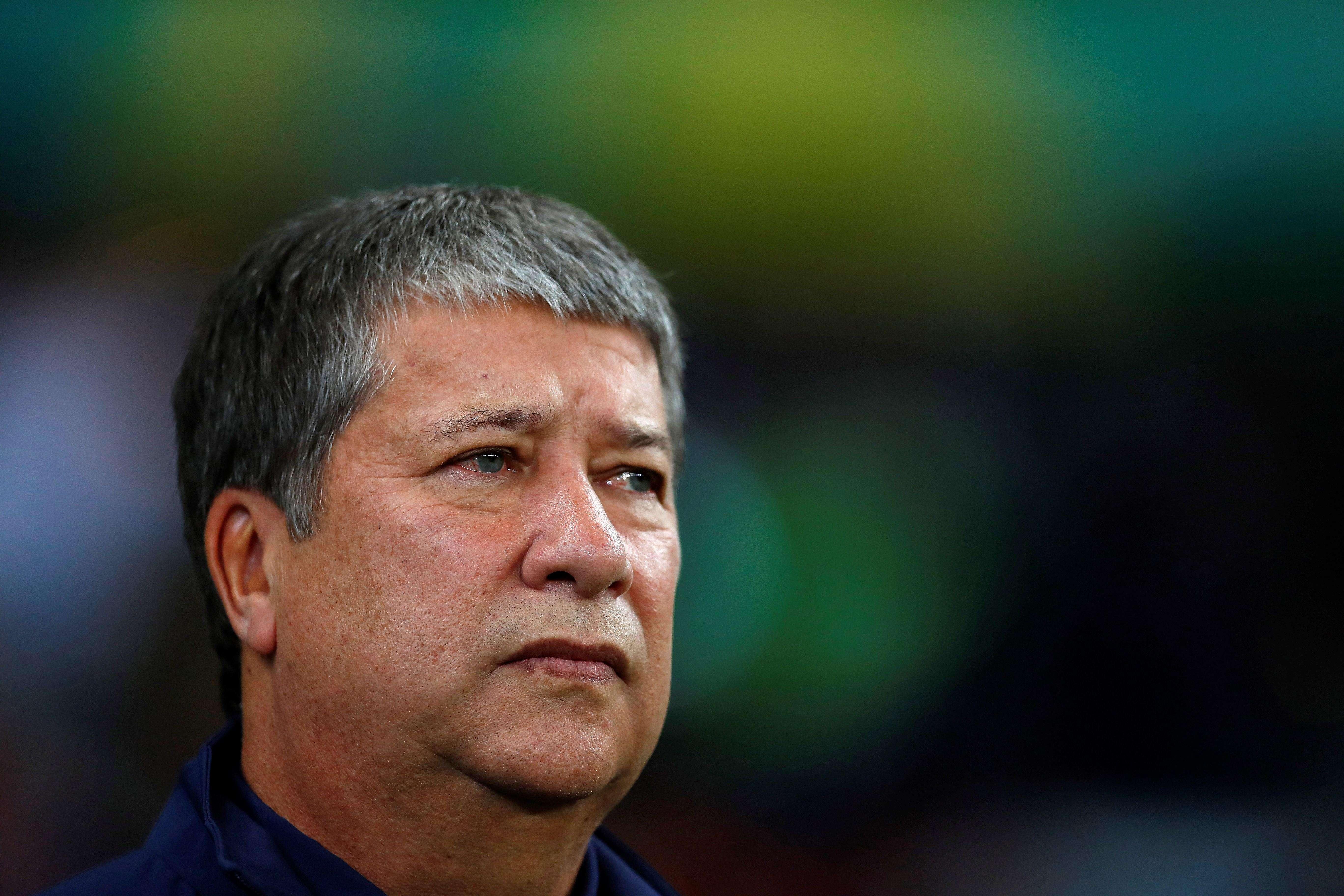 'Bolillo' Gómez, técnico de Ecuador. /EFE