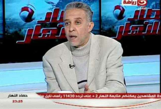 El exjugador Abdelrehim Mohamed.
