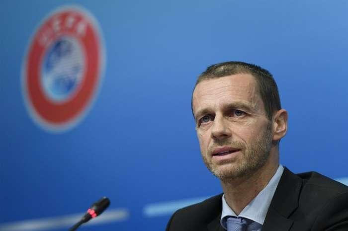 Aleksander Čeferin, es el actual presidente de la UEFA./EFE