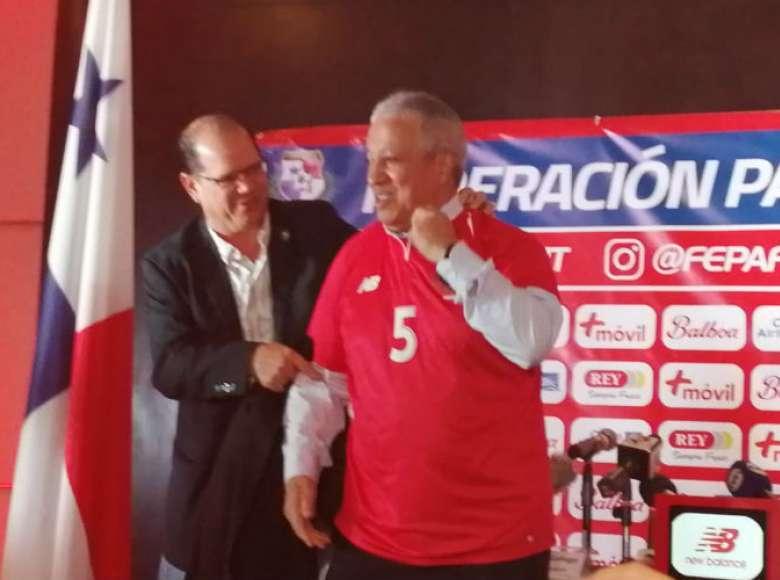 Manuel Arias, presidente de la Fepafut (izq.) y Américo Gallego.