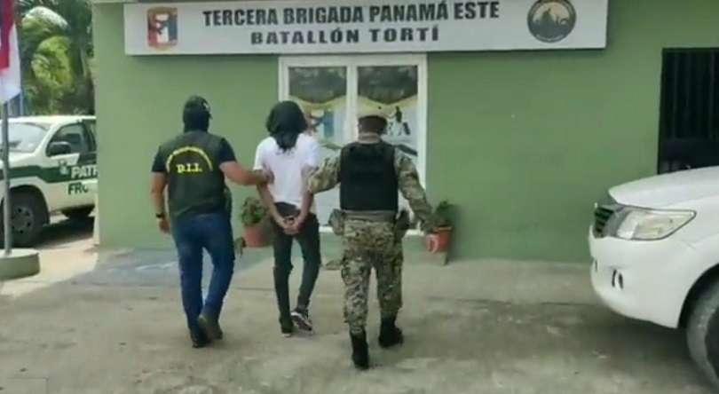 El sospechoso fue aprehendido ayer en Tortí.