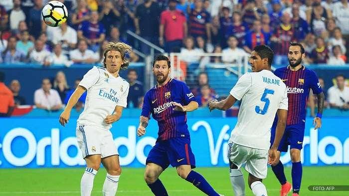 Barcelona y Real Madrid ya se enfrentaron en un encuentro en los Estados Unidos./AFP