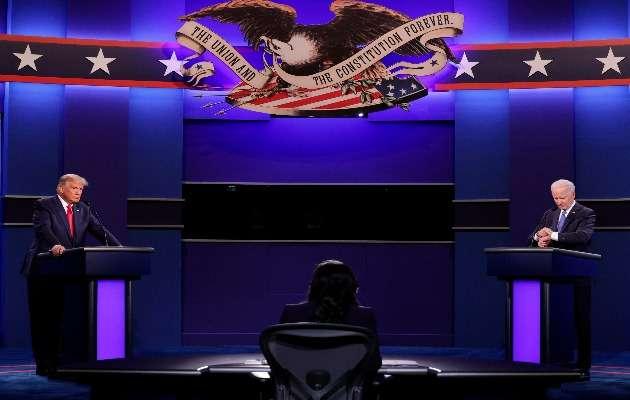Donald Trump y Joe Biden se enfrentaron en el segundo debate.