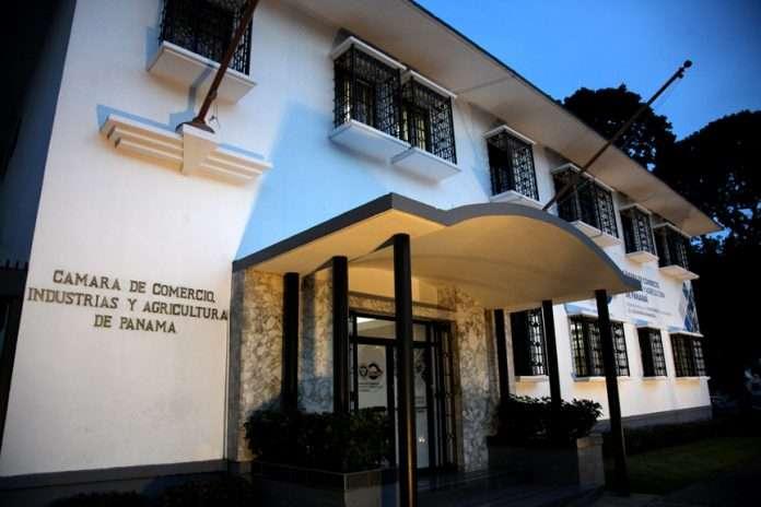 Sede de la Cámara de Comercio de Panamá.