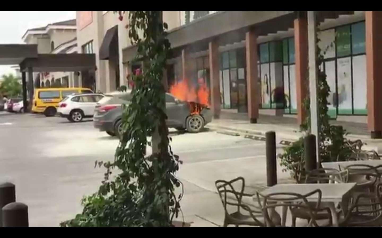 Captura de video @TraficoCPanama