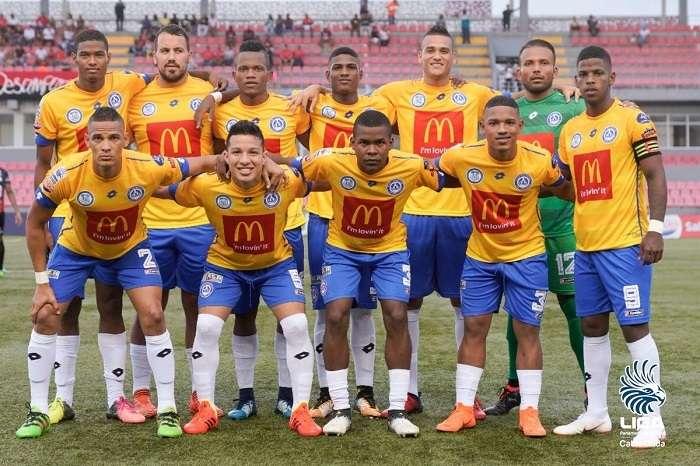 El CD Universitario en su debut en la Liga Panameña de Futbol./Foto:LPF