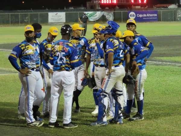 El equipo de Colón aseguró ayer su clasificación con el triunfo sobre Chiriquí Occidente. Foto: Fedebeis