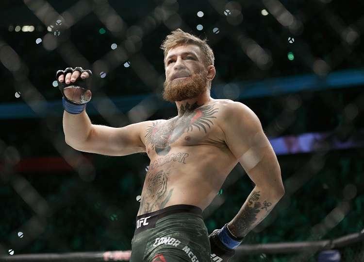 McGregor fue arrestado recientemente en Florida por robo a mano armada después de un altercado. Foto: AP