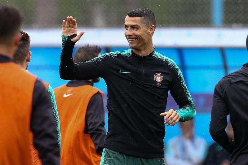 Cristiano Ronaldo, capitán de la selección de Portugal. /EFE