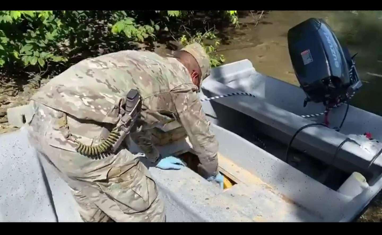La incautación de la droga se logró durante tareas de patrullaje y control de tráfico marítimo ilícito.