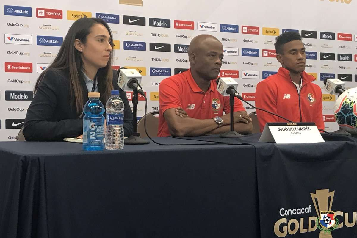 Julio Dely y Yoel Bárcenas atendieron esta tarde a la prensa. /Foto: Fepafut