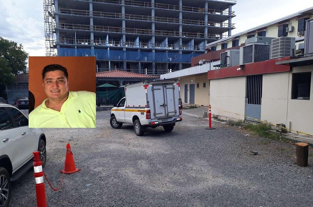 Imagen del ingreso del cadáver de Diomedes Polanco, exdirector del Tránsito en Chiriquí a la morgue judicial. Foto: José Vásquez