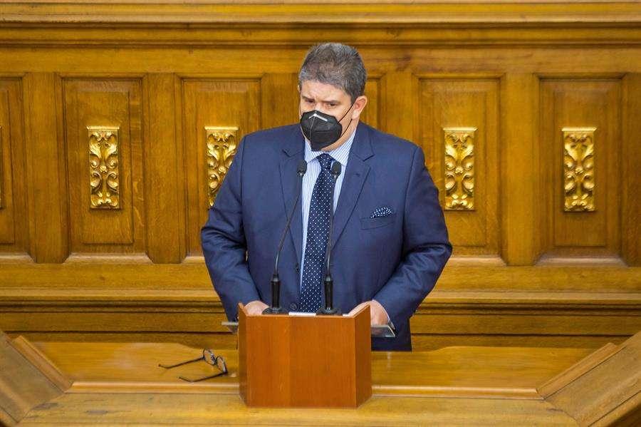 El diputado de la Asamblea Nacional de Venezuela, Jose Gregorio Correa, en una fotografía de archivo. EFE
