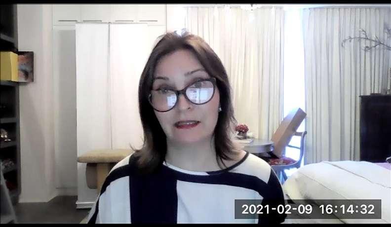 Directora de Fundacáncer, Alexandra Castro Novey.
