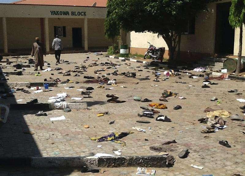 Escenario de un atentado registrado en julio de 2015 en Zaria, al norte de Nigeria. EFEArchivo