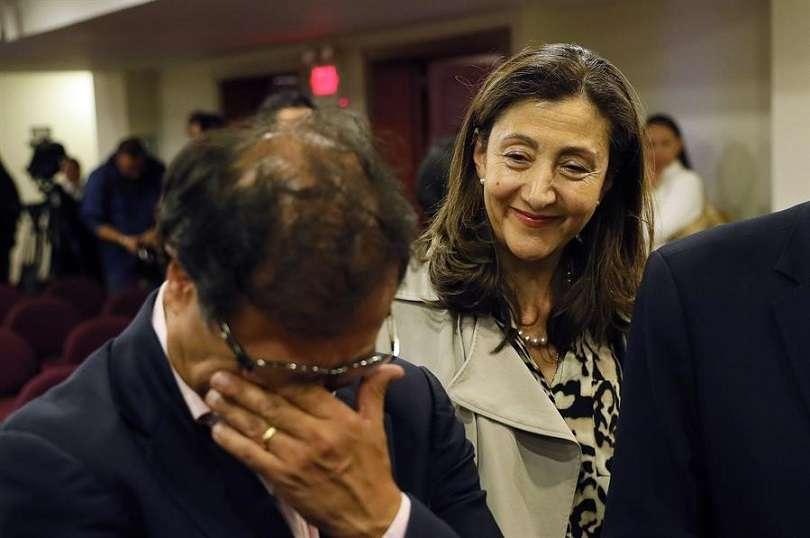 En la imagen aparece la excandidata presidencial de Colombia Íngrid Betancourt. EFE