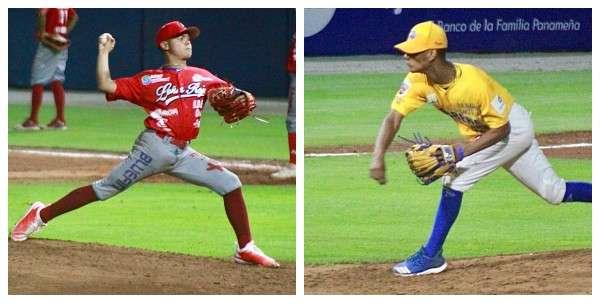 Felipe Torres (izq.) y Joshua Saavedra serán los abridores de Coclé y Herrera respectivamente. Fotos: Fedebeis
