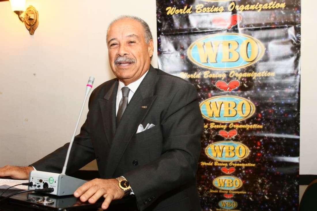 Francisco Valcárcel, presidente de la Organización Mundial de Boxeo.
