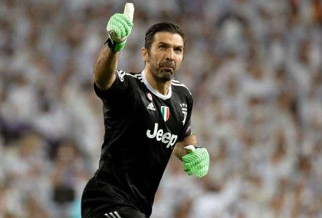 El portero italiano Gianluigi Buffon. Foto: EFE