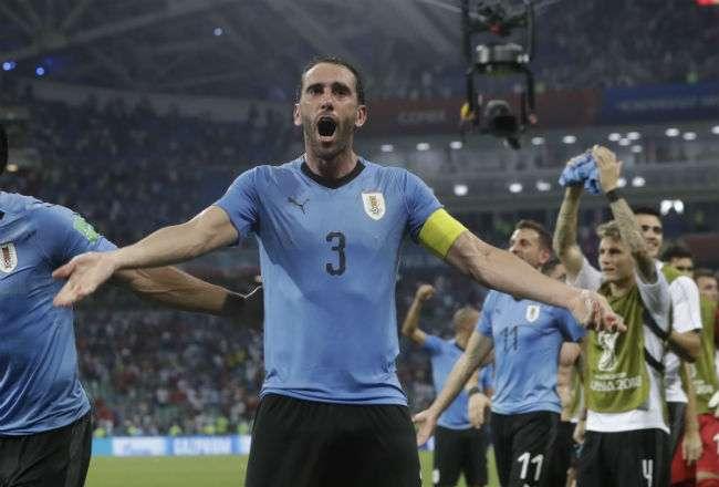 Diego Godín está jugando su cuarta Copa del Mundo.