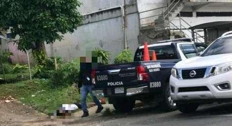 Hombre herido en Santa Marta.