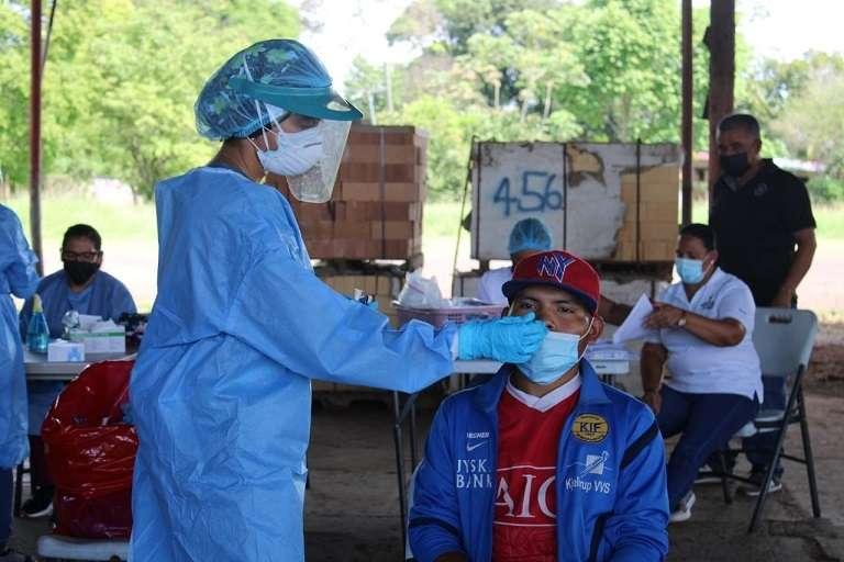 Los Equipos de Respuesta Rápida realizaron una jornada de hisopados a 63 trabajadores en el área del Ingenio.